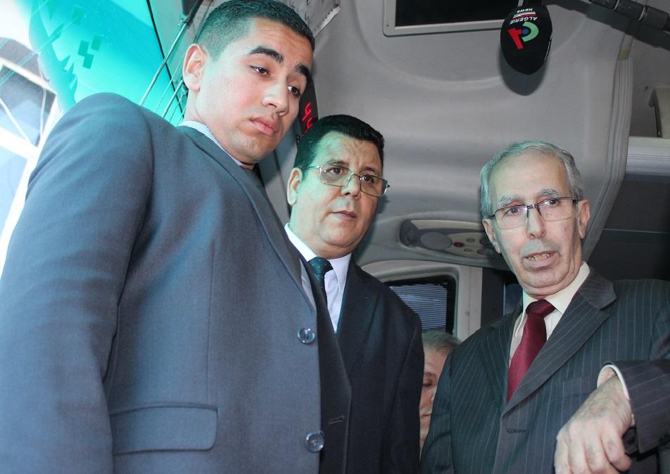 وزير الاشغال العمومية والنقل في زيارة مفاجئة، لمحطة خروبة